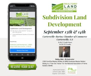 Subdivision Land Development